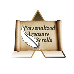 Personalized Treasure Scrolls