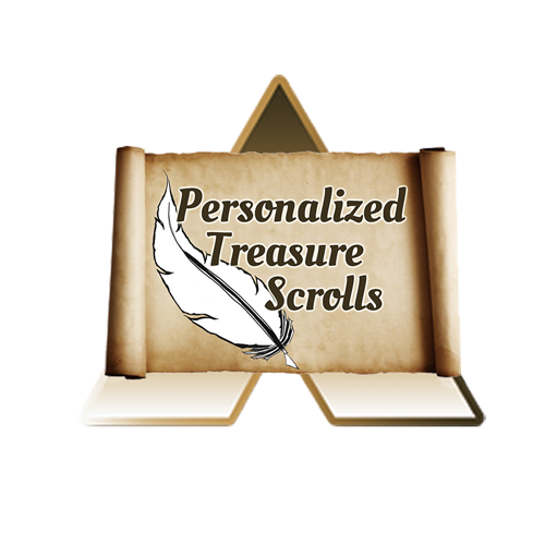 Personalized Treasure Scrolls