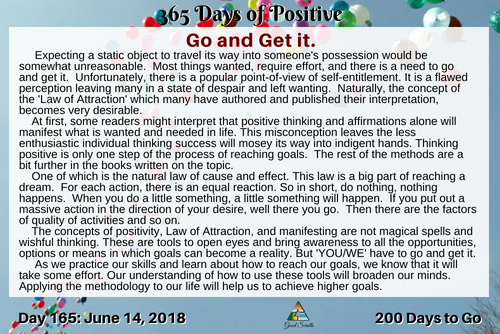 365 Day of Positive