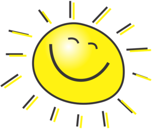 Positive Happy sun