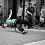 dancing creatively