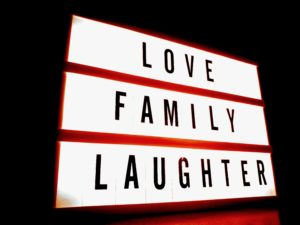 love family laughter