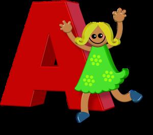 Alphabet Girl A